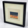 MCM Miniature Abstract Landscape Serigraph Signed John Schlump