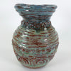 2016 Studio Pottery Rope Vase Signed