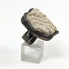 Beth Orduna White Coral Silver Ring