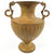 Rustic Yellow Metal Urn