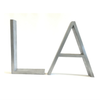L. A. Vintage Aluminum Marquee Letters