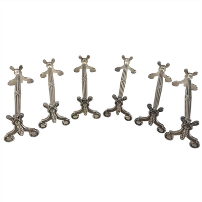Christofle Silverplate Knife Rests - Set of 6