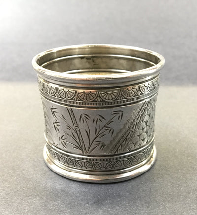 Antique Gorham Sterling Napkin Ring - Aesthetic Movement