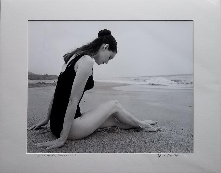 "Tyler Thornton ""On the Beach"" L.A. 1968 - Original Photograph"