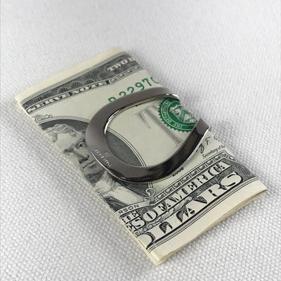 Vintage Swank Sterling Lucky Horseshoe Money Clip