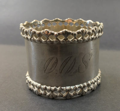 Antique Sterling Napkin Ring - Towle