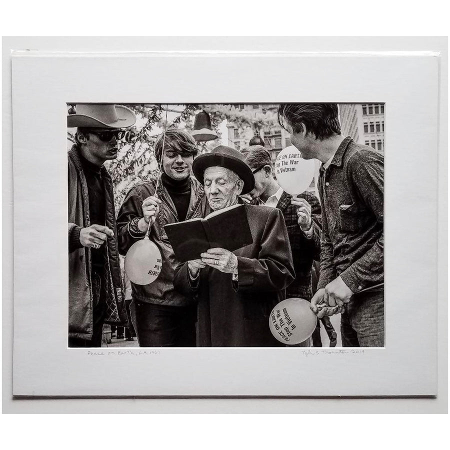 "Tyler Thornton ""Peace On Earth"", L.A.,1967 - Original Photograph"