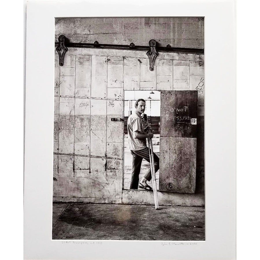 "Tyler Thornton ""Do Not Trespass"" L.A. 1967 - Original Photograph"