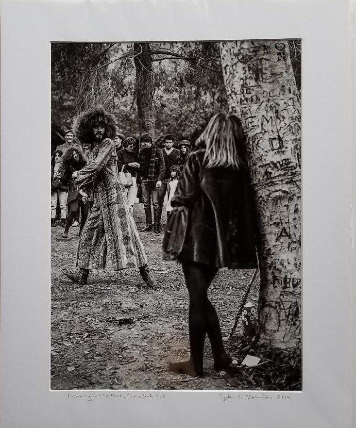 "Tyler Thornton ""Dancing in the Park"" Tapia Park, 1968 - Original Photograph"