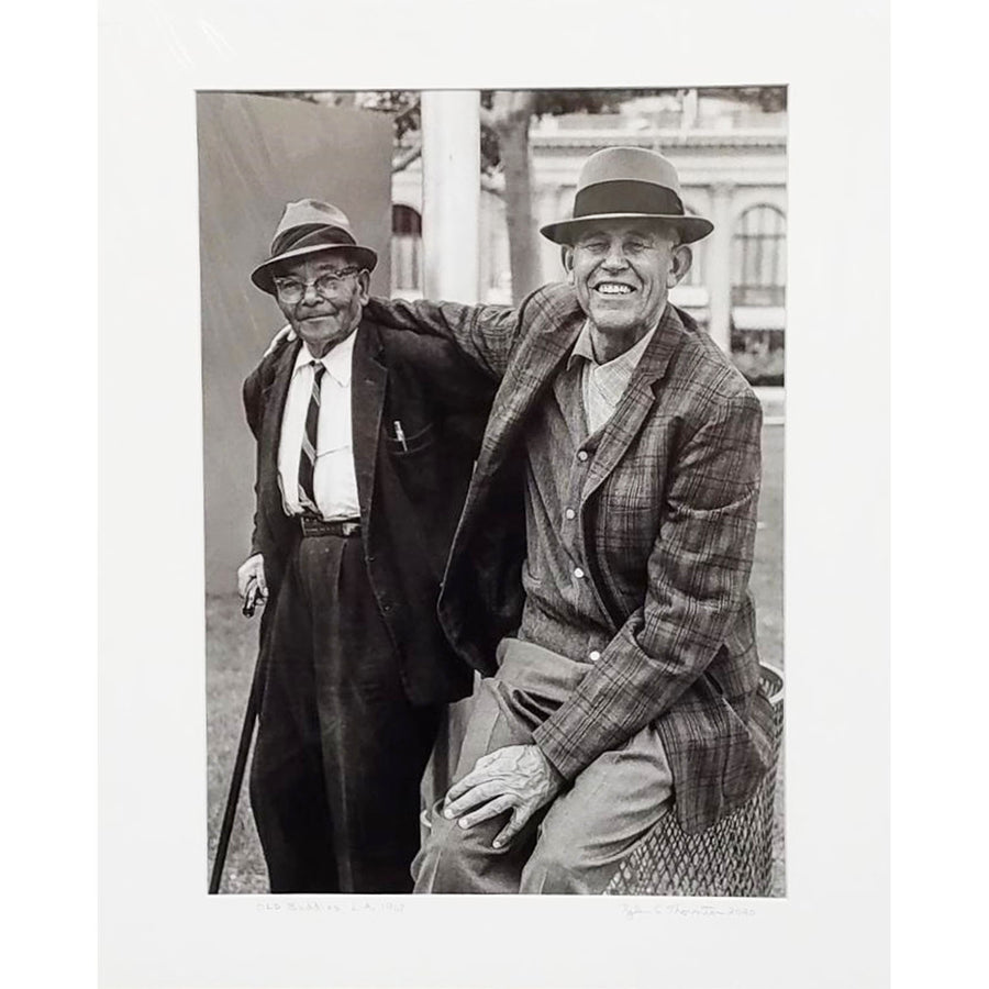"Tyler Thornton ""Old Buddies"" L.A. 1969 - Original Photograph"