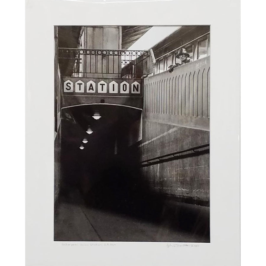 "Tyler Thornton ""Under Pass Union Station"" L.A. 1967 - Original Photograph"