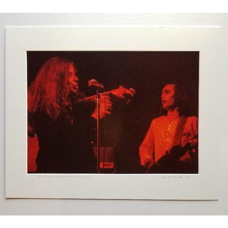 "Tyler Thornton ""Janis Joplin on Stage"" 1969 - Original Photograph"