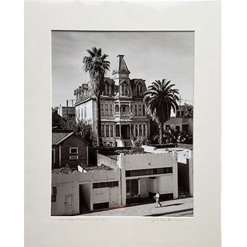 "Tyler Thornton ""Silverlake Mansion"" L.A. 1968 - Original Photograph"
