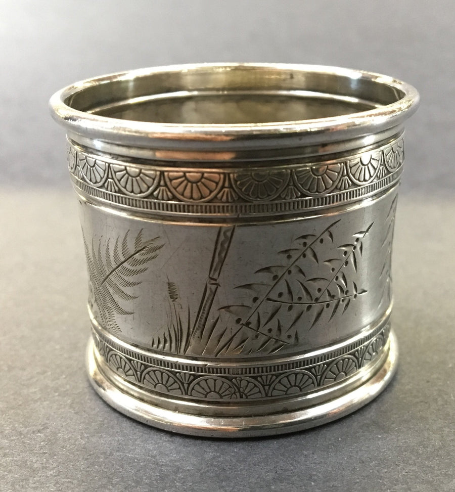 Antique sterling Gorham napkin ring.  The Mart Collective Venice Los Angeles, CA.