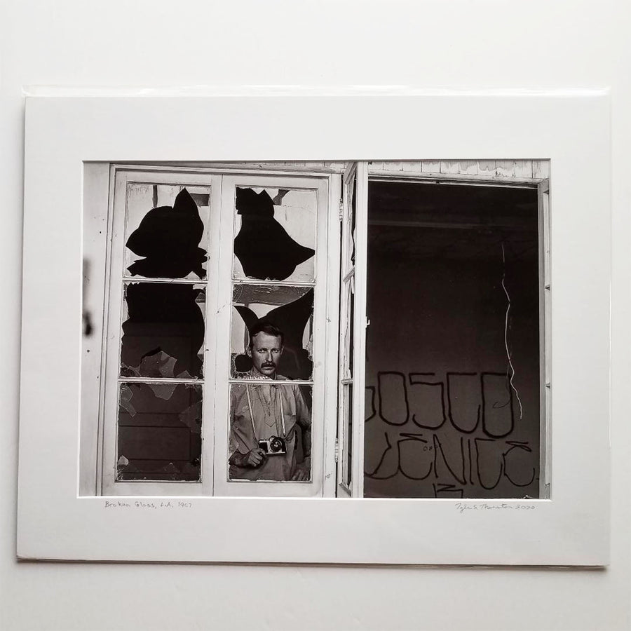 "Tyler Thornton ""Broken Glass"" L.A. 1967- Original Photograph"
