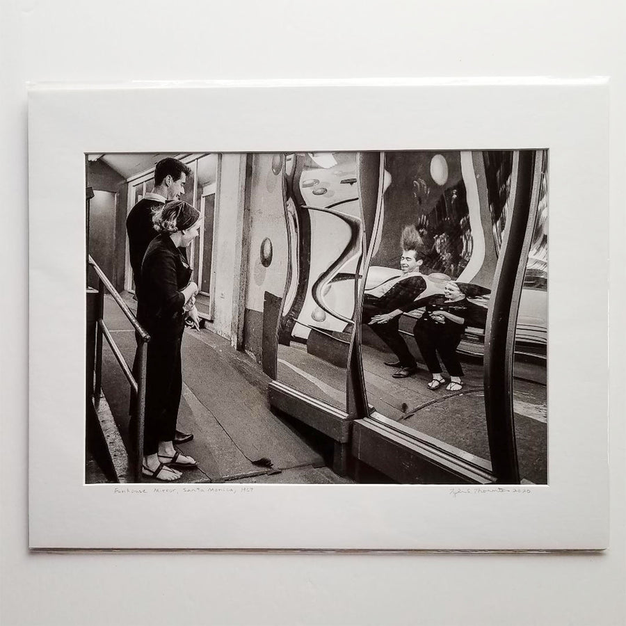 "Tyler Thornton ""Funhouse Mirror"" Santa Monica 1967- Original Photograph"