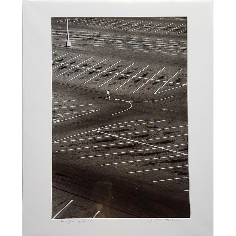 "Tyler Thornton ""Parking Lot"" L.A. 1967 - Original Photograph"