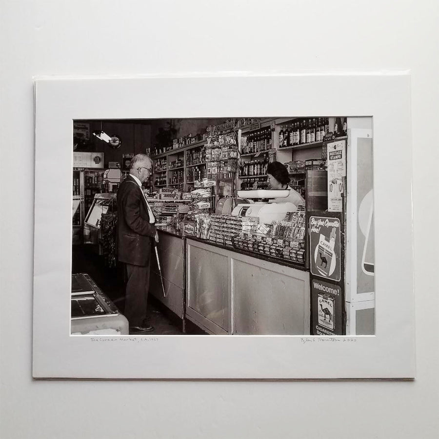 "Tyler Thornton ""The Corner Market"" L.A. 1967- Original Photograph"