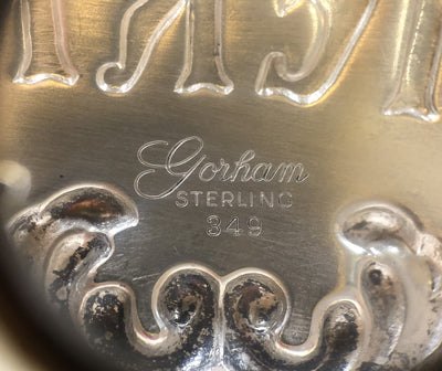 1960's Gorham Sterling Silver Sherry Bottle Tag