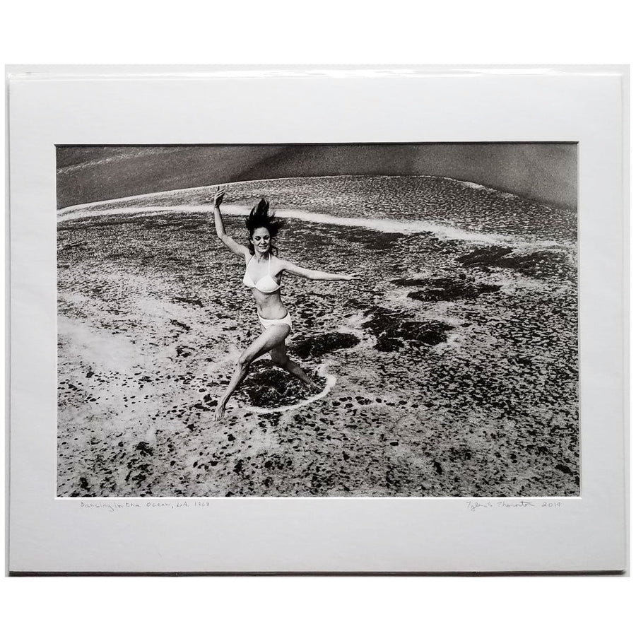 "Tyler Thornton ""Dancing in the Ocean"" LA, 1968- Original Photograph"