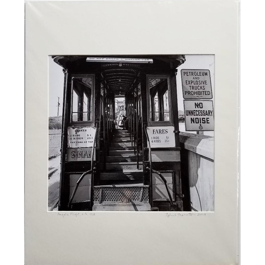 "Tyler Thornton ""Angels Flight"" L.A. 1968 - Original Photograph"