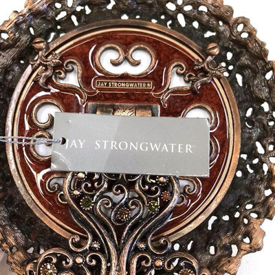 Jay Strongwater Jeweled and Enameled Photo Frame - Mint Condition