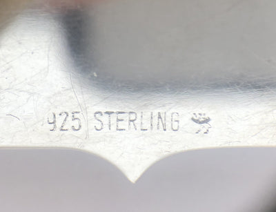 Sterling Silver Liquor Label or Bottle Tag for Port