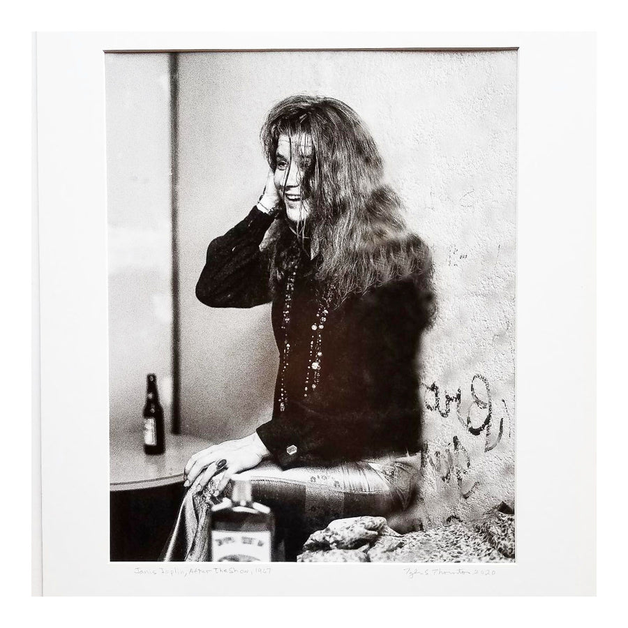 "Tyler Thornton ""Janis Joplin After the Show"" 1967 - Original Photograph"