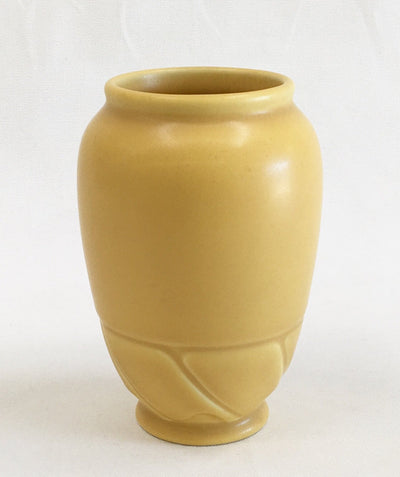Rookwood Vase Matte Yellow - 1931