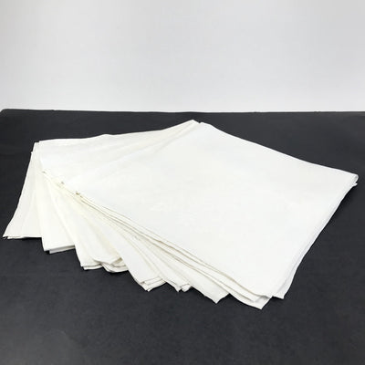 Irish Linen Damask Napkins - Vintage Set of 8