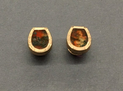 Pair antique horse shoe cuff links.  The Mart Collective Venice Los Angeles, CA.