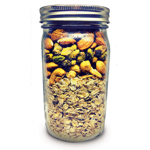 Chai Time: Crunchy Gluten-free Granola Mix with Pistachios, Cashews and Coconut (jar)