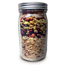 Load image into Gallery viewer, Fall Back: Pumpkin Spice Crunchy Granola Mix with pumpkin seeds, hazelnuts and pecans (pouch)