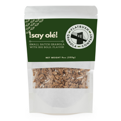 Say Olé: Crunchy Gluten-free Granola Mix with Bananas, Peanuts and Coconut (pouch)