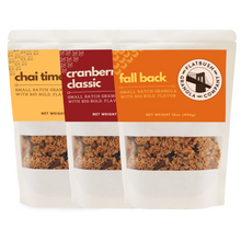 Load image into Gallery viewer, Flatbush 'Flight': Crunchy Nutty Granola Mix Sampler (pouch)