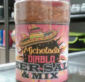 Black Toro Michelada Diablo Beer Salt