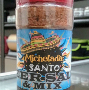 Black Toro Michelada Santo Beer Salt