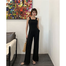Load image into Gallery viewer, A-917 Wide Leg Square Neck Jumpsuit