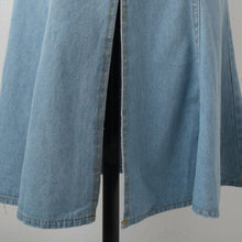 Load image into Gallery viewer, A-904 Denim Buttoned Flare Dress