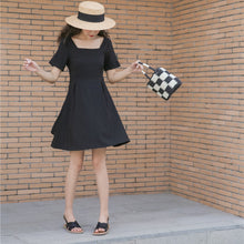 Load image into Gallery viewer, A-920 Low Back Belted Casual Dress