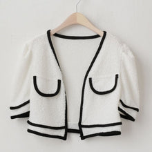 Load image into Gallery viewer, A-905 Kner Top Nashi Cardigan Set