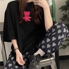 Load image into Gallery viewer, A-1026 Bear Loose Shirt