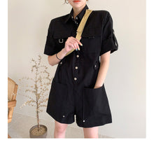 Load image into Gallery viewer, A-915 Buttoned Romper