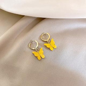 C-1425 Fairy Mini Butterfly Earrings