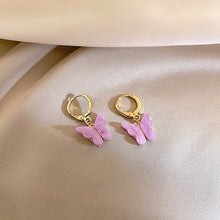 Load image into Gallery viewer, C-1425 Fairy Mini Butterfly Earrings