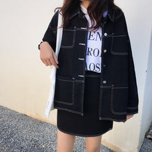 Load image into Gallery viewer, A-914 Jacket and Skirt Denim Co-ord