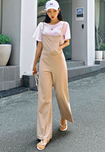 Load image into Gallery viewer, A-838 Beige Jumpsuit Set