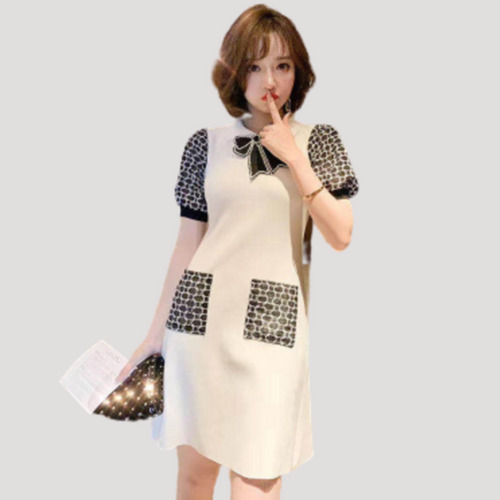 A-968 Slim Knit Dress
