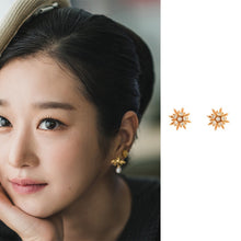 Load image into Gallery viewer, C-1464 Star Earrings