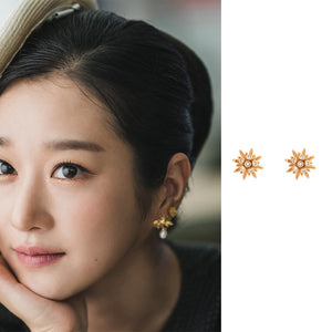 C-1464 Star Earrings